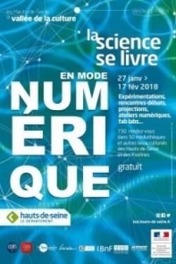 """HAUTS DE SEINE: """"LA SCIENCE SE LIVRE"""" EN MODE NUMÉRIQUE EN 2018"""