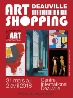 ART SHOPPING DEAUVILLE – ÉDITION DE LANCEMENT – FOIRE INTERNATIONALE D'ART CONTEMPORAIN.