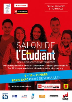 SALON DE L'ETUDIANT PARIS 2018