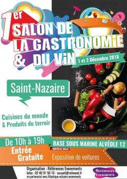 SALON GASTRONOMIE ET VIN ST NAZAIRE