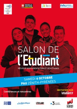 SALON DE L'ÉTUDIANT, PAU, LE 6 OCTOBRE 2018