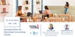 INAUGURATION MORNING COWORKING CLICHY