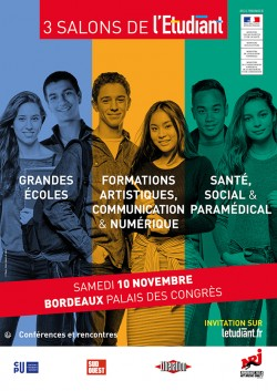 SALON DE L'ETUDIANT DE BORDEAUX - 10 NOVEMBRE 2018