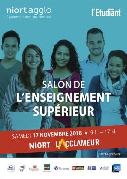 SALON DE L'ENSEIGNEMENT SUPÉRIEUR DE NIORT - 17 NOVEMBRE 2018