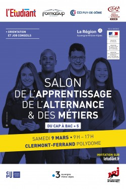 SALON APPRENTISSAGE, ALTERNANCE & MÉTIERS DE CLERMONT-FERRAND