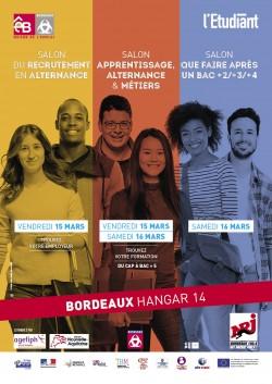L 39 etudiant 3 salons bordeaux 15 et 16 mars - Salon de l alternance bordeaux ...